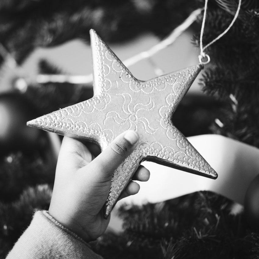 Paniers de Noël Mosaique