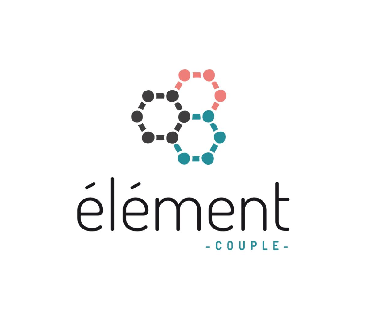 Logo Element couples eglise communautaire mosaique petit groupe